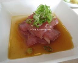 SUGARFISH tuna sashimi